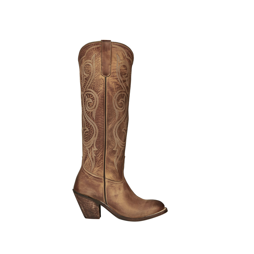 Lucchese Tan Tall Comanche Boot