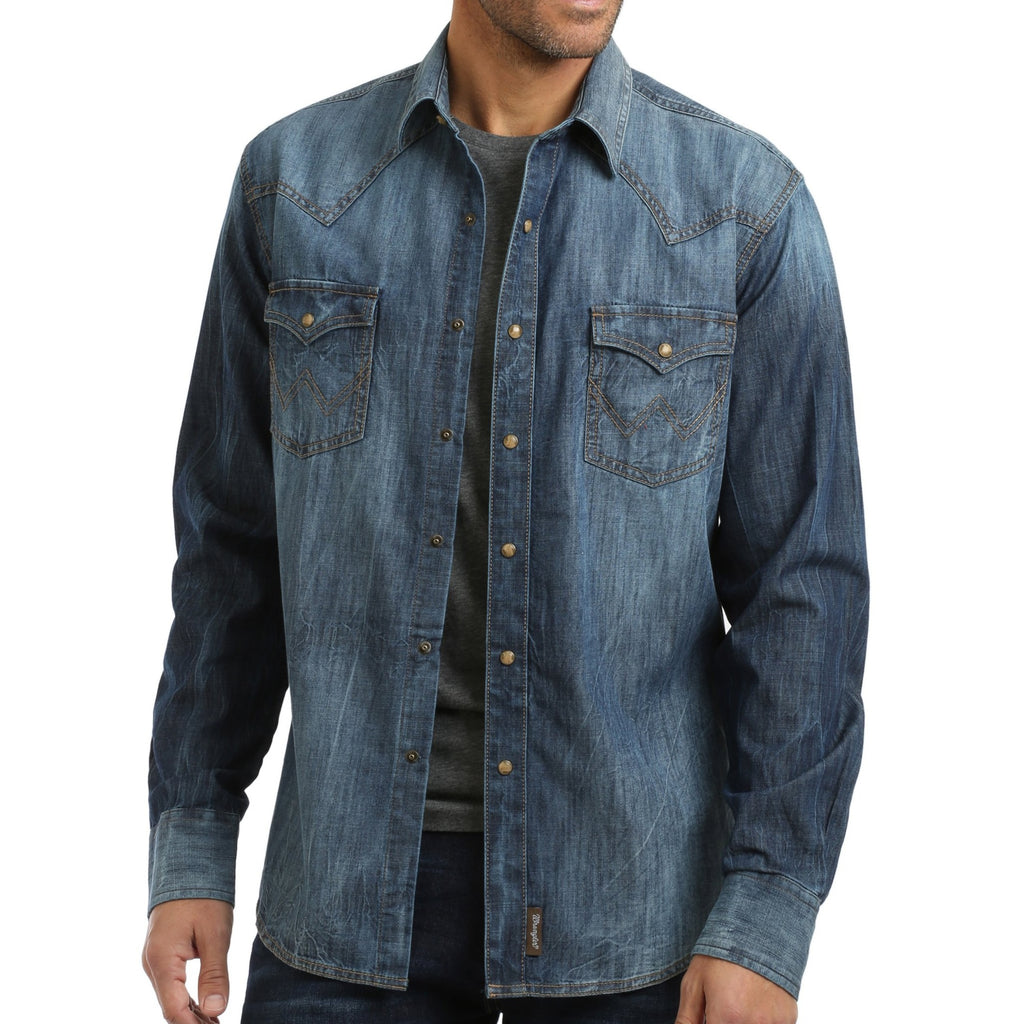 Denim Wrangler Shirt
