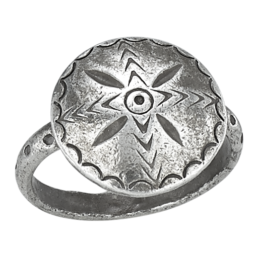 Circle Star Ring - headwestbozeman