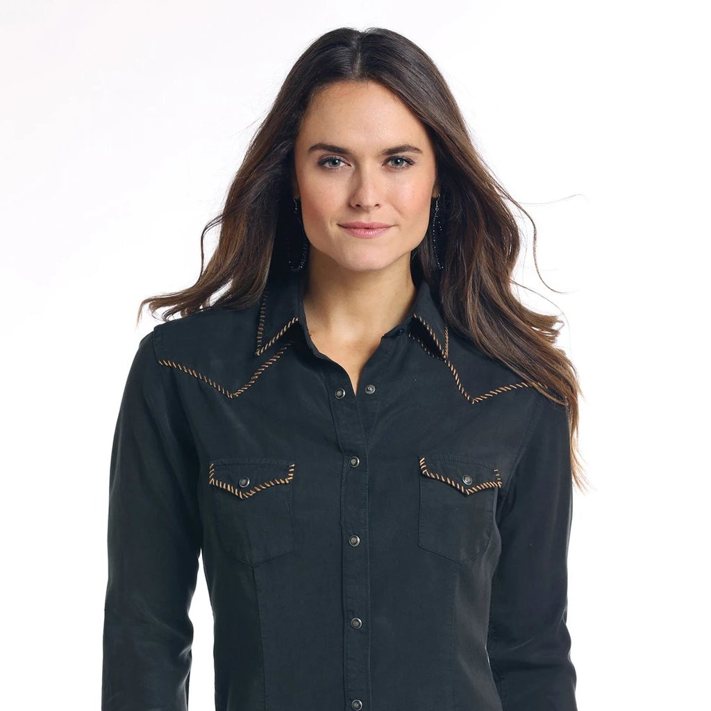 Ladies Snap Shirt