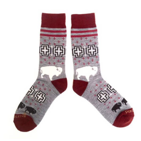 Pendleton Camp Socks - headwestbozeman
