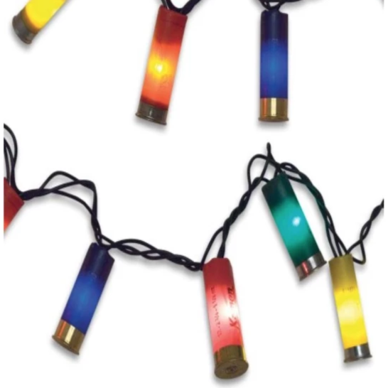 Upcycled Shotgun Shell Lights