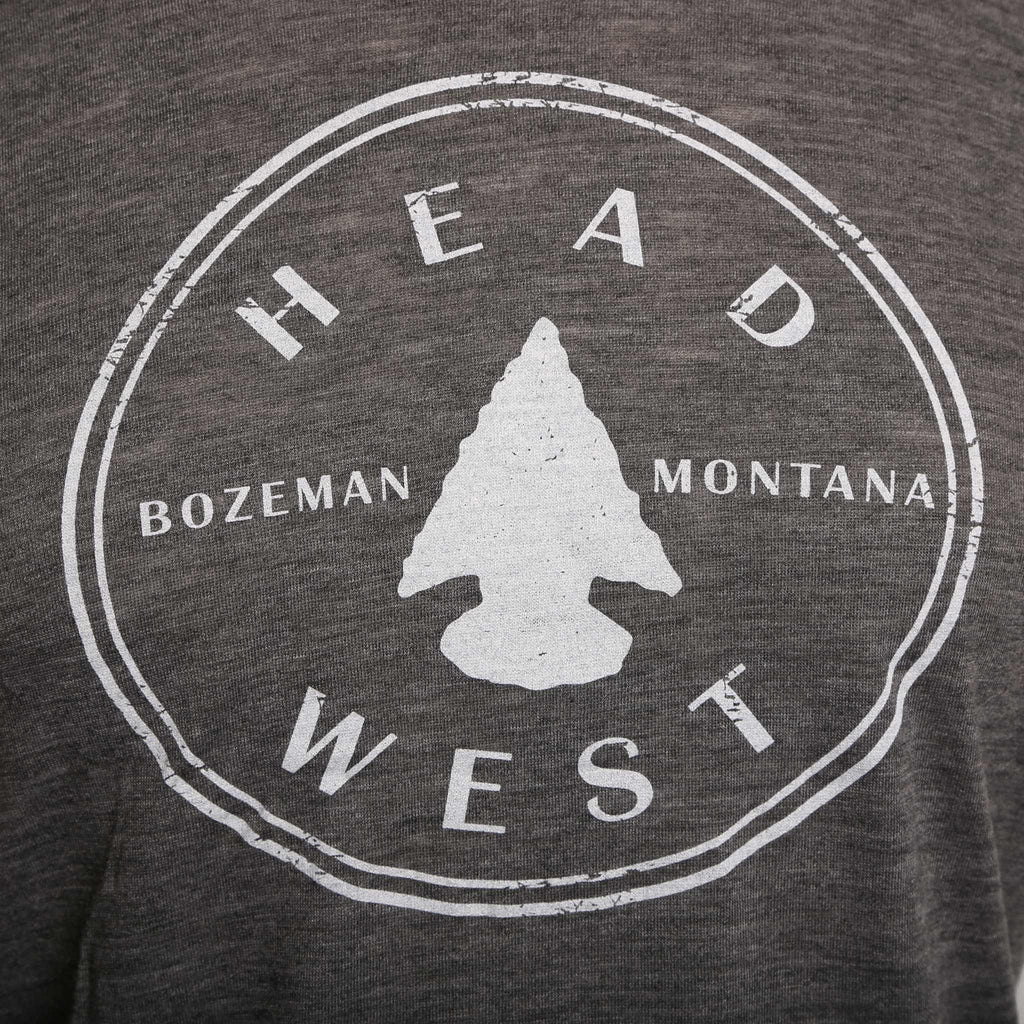 Head West Arrowhead Logo Women's T-Shirt - headwestbozeman