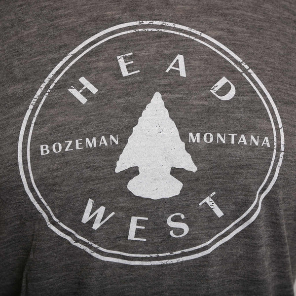 Head West Arrowhead Logo Women's T-Shirt