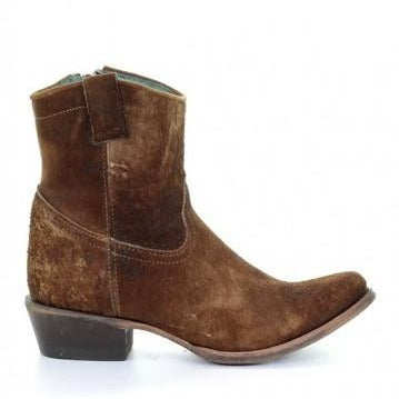 The Lamb Abstract bootie features a tumbled lamb skin in a one of a kind color. These boots are both comfortable and classic.