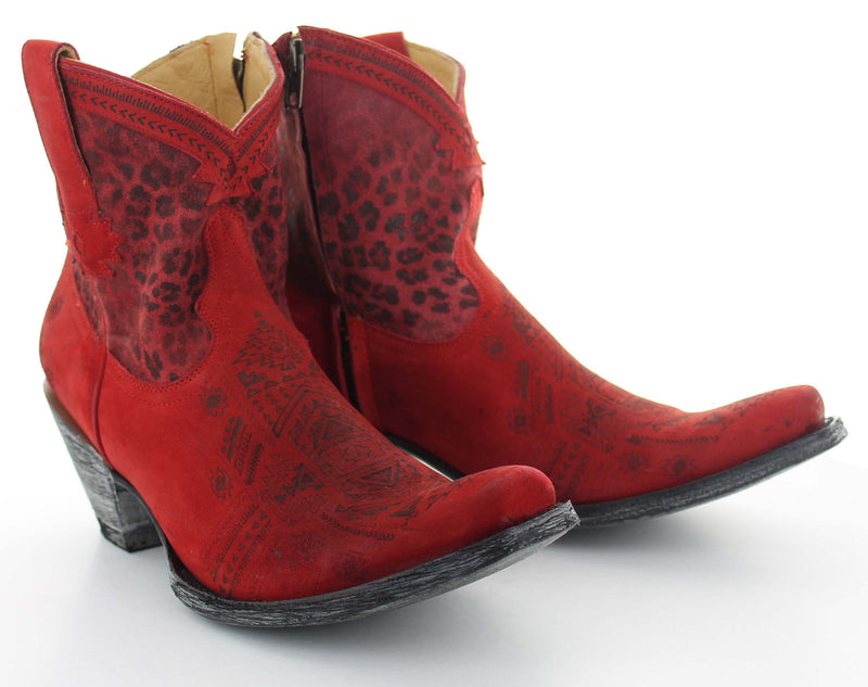 The Atenea Boot by Old Gringo Yippee Yay Cowgirl Western Boutique Bozeman Montana Rodeo Red Boots