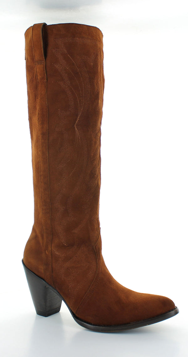 Old Gringo Paula Tall Boot Round Toe Leather Cowgirl Boots Western Wear Lifestyle Head West Bozeman