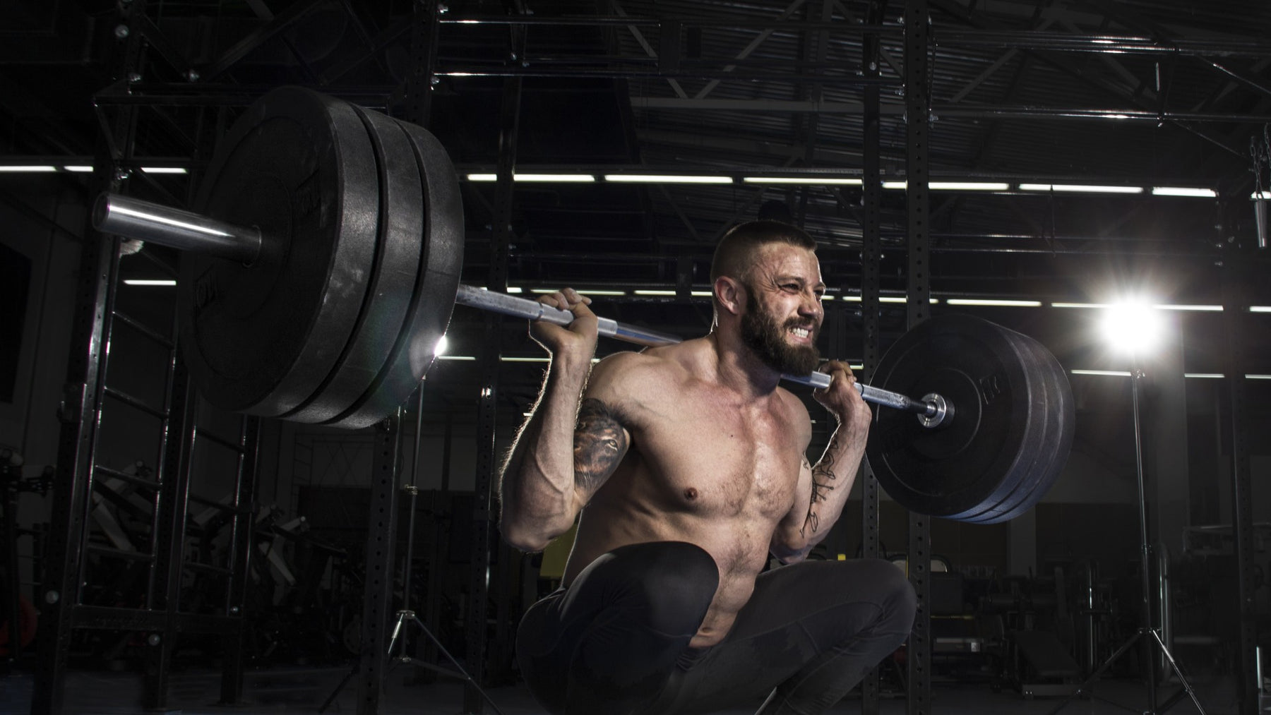 Steve Shaw's 20 Rep Squat Routine for Fast Mass