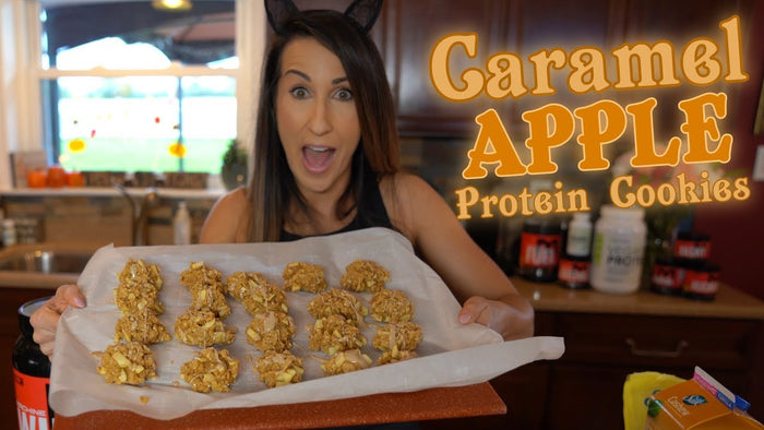 Caramel Apple, Protein Cookies