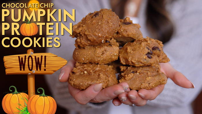Chocolate-Chip Pumpkin Protein Cookies