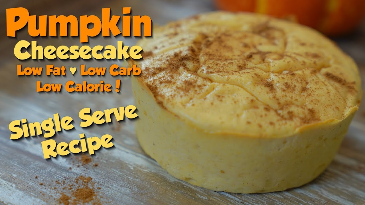Pumpkin Protein Cheesecake