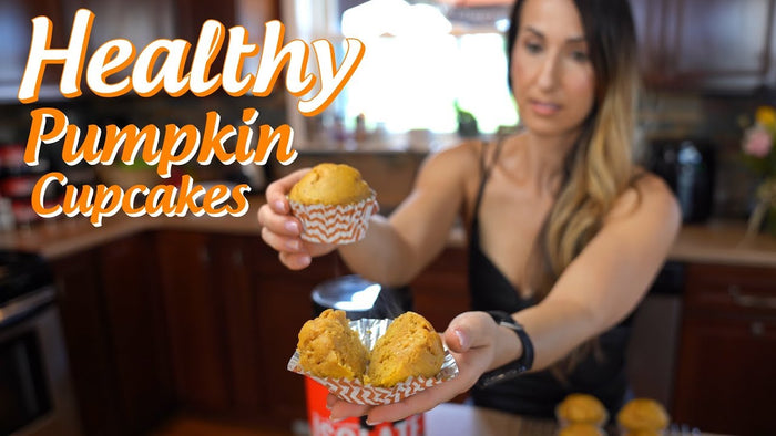 Protein-Packed Pumpkin Cupcakes