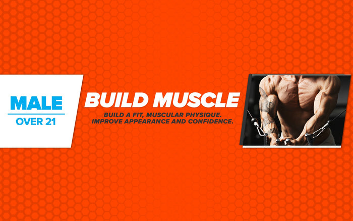 Free Workout Plan - Male - Over 21 - Build Muscle