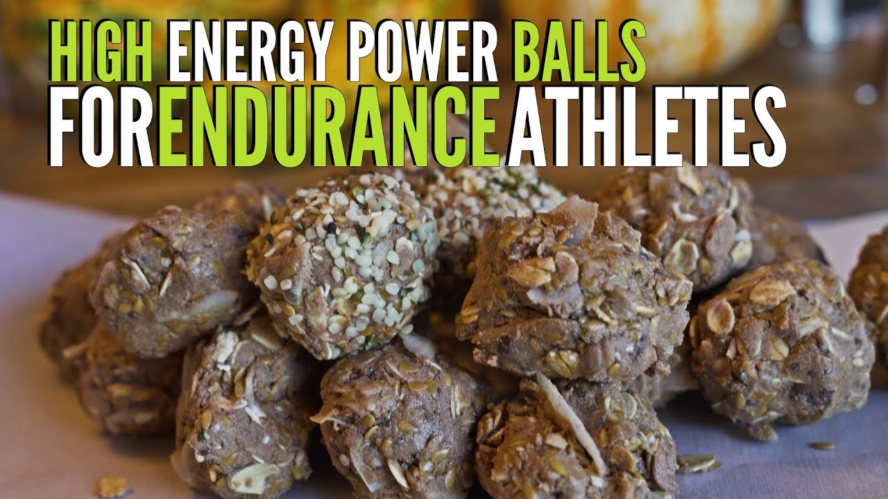High Energy Power Balls For Endurance Athletes