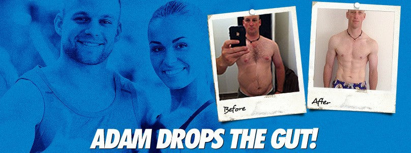 Transformation: Adam Quail Drops the Gut!