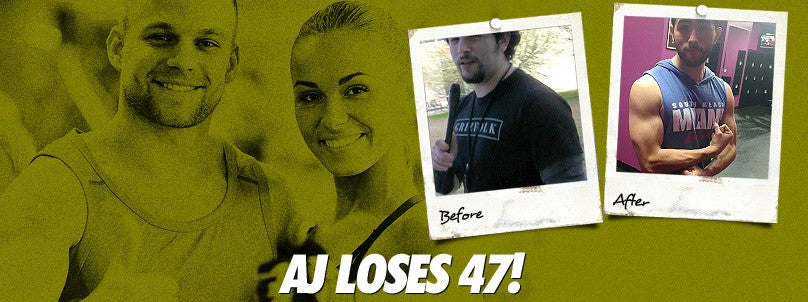 "Transformation: ""Weak"" AJ Gonzalez Loses 47 Pounds!"