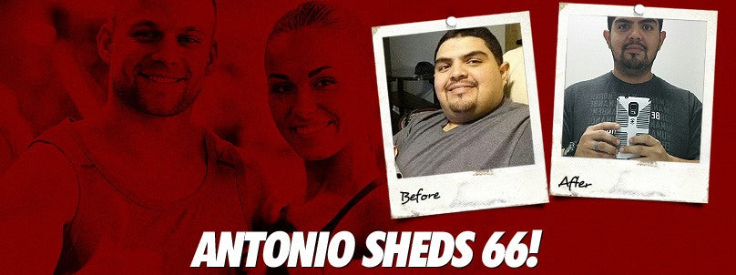 Transformation: Antonio Hinojosa Sheds 66 Pounds!