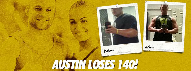 Transformation: Austin Pfefferle Crushes a 140 Pound Weight Loss!