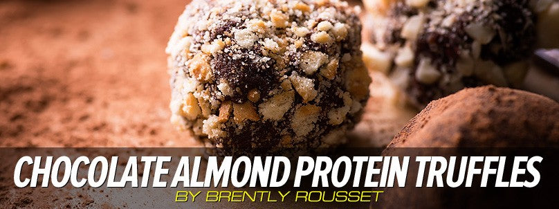 No-Bake Chocolate Almond Protein Truffles Recipe