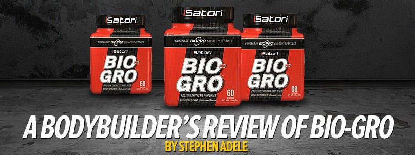A Bodybuilder Reviews iSatori Bio Gro & Bioactive Peptides Research