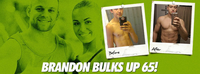 Transformation: Brandon Leonard Bulks Up 65 Pounds!