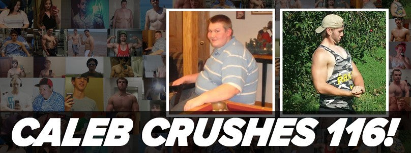 Transformation: Caleb Krenz Crushes a 116 Pound Loss!