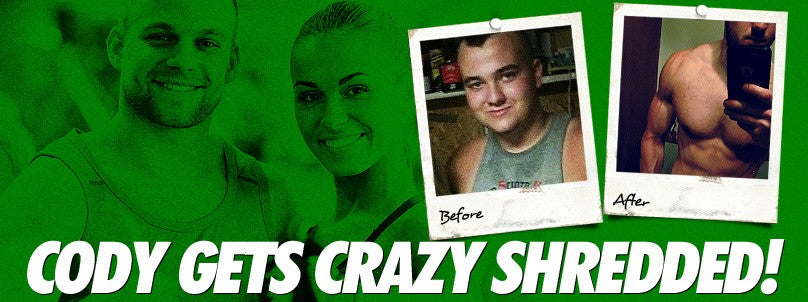Transformation: Cody Dyer Gets Crazy Shredded!
