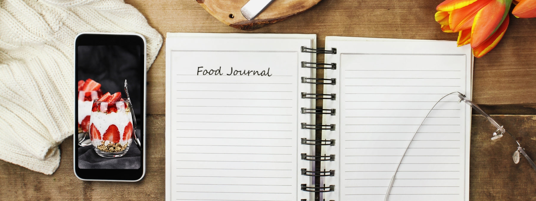 6 Ways to Wean Yourself Off of Food Journaling