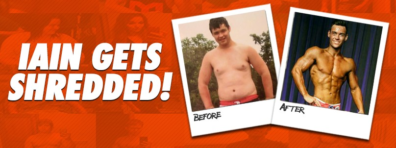 Transformation: Iain Crawford Shreds Off 65 Pounds!