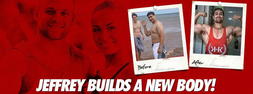 Transformation: Jeffrey Gaudet Loses Fat & Builds Muscle