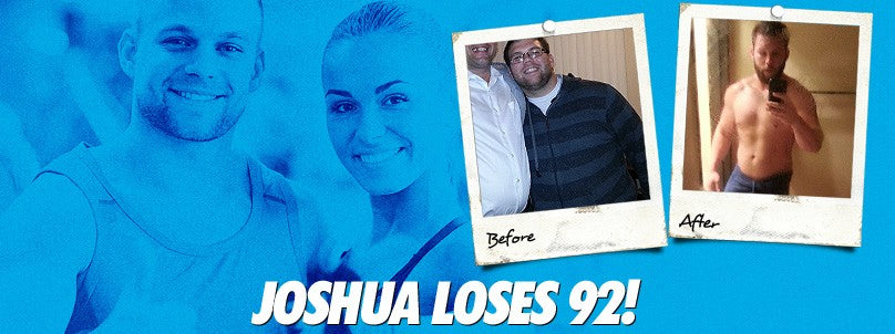 Transformation: Joshua Neighbors Loses an Incredible 92 Pounds!