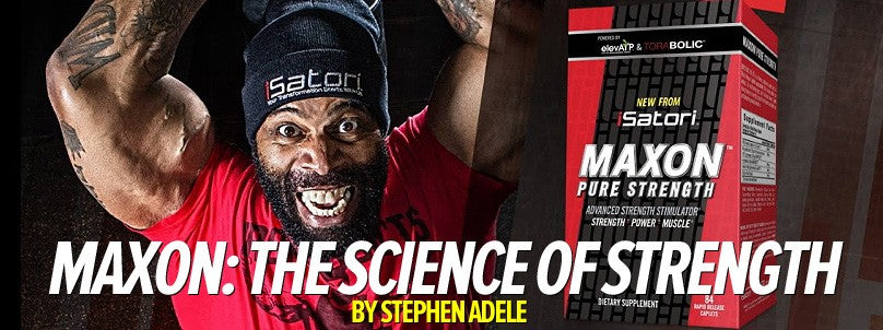 Maxon: The Science of Building Pure Strength Through Supplementation