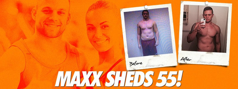 "Transformation: ""Unmotivated"" Maxx Amato Sheds 55 Pounds in 17 Months"