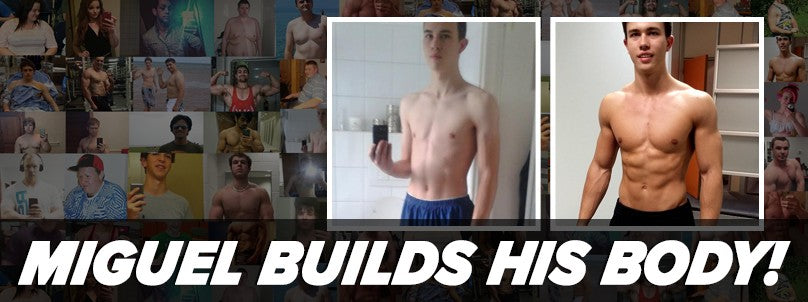Transformation: Miguel Asselbergs Builds His Dream Body!