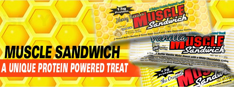 Muscle Sandwich: The Ultimate Protein Bar Treat