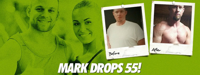 Transformation: Mark Sparks Drops the Belly and 55 Pounds!