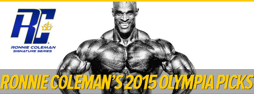 Ronnie Coleman's Exclusive 2015 Mr. Olympia Predictions
