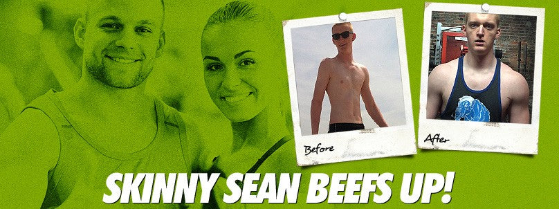 Transformation: Skinny Sean Szymanski Beefs Up!
