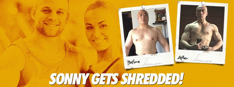 Transformation: Sonny Guingab Drops 84 and Gets Shredded!