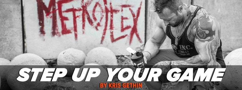 Gaining Muscle - Time to Step Up Your Game by Kris Gethin