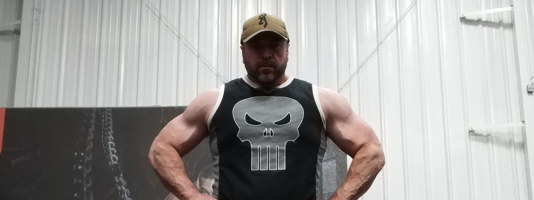 Powerlifter Steve Shaw Loses 104 Pounds
