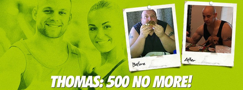 Transformation: Thomas Radu is 500 Pounds No More!