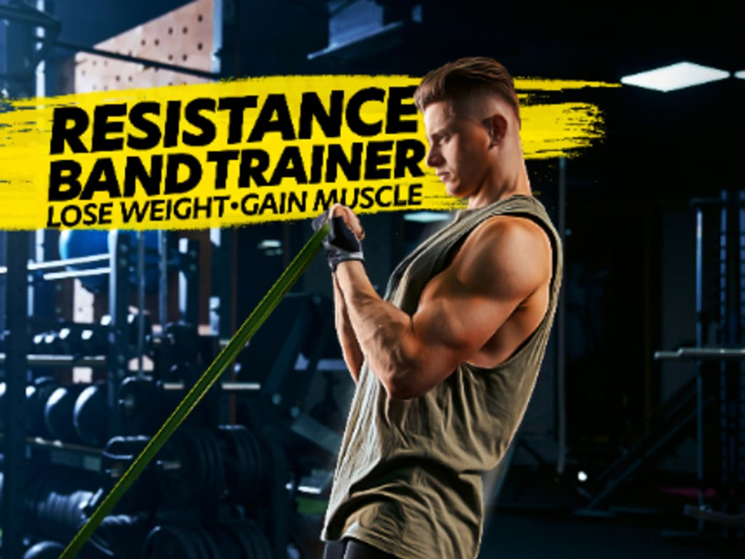 Resistance Band Video Trainer For Gaining Muscle and Losing Fat