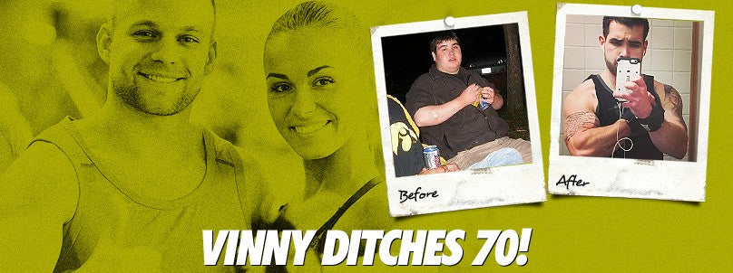 Transformation: Unathletic Vinny Hayes Ditches 70 Pounds!