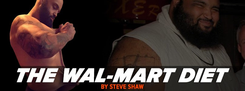 Fat Pat Loses 330 Pounds Using the Wal-Mart Diet