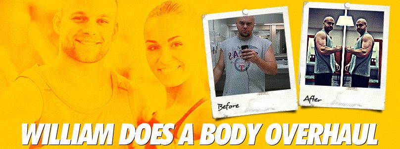 Transformation: William Simpson Does a Complete Body Overhaul