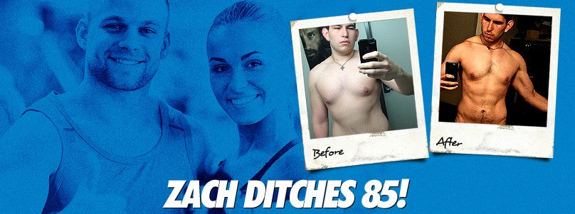 Transformation: Zach Zamarripa Ditches 85 Total Pounds!