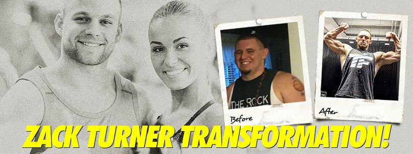 Zack Turner Transformation: From Flabby to Jacked