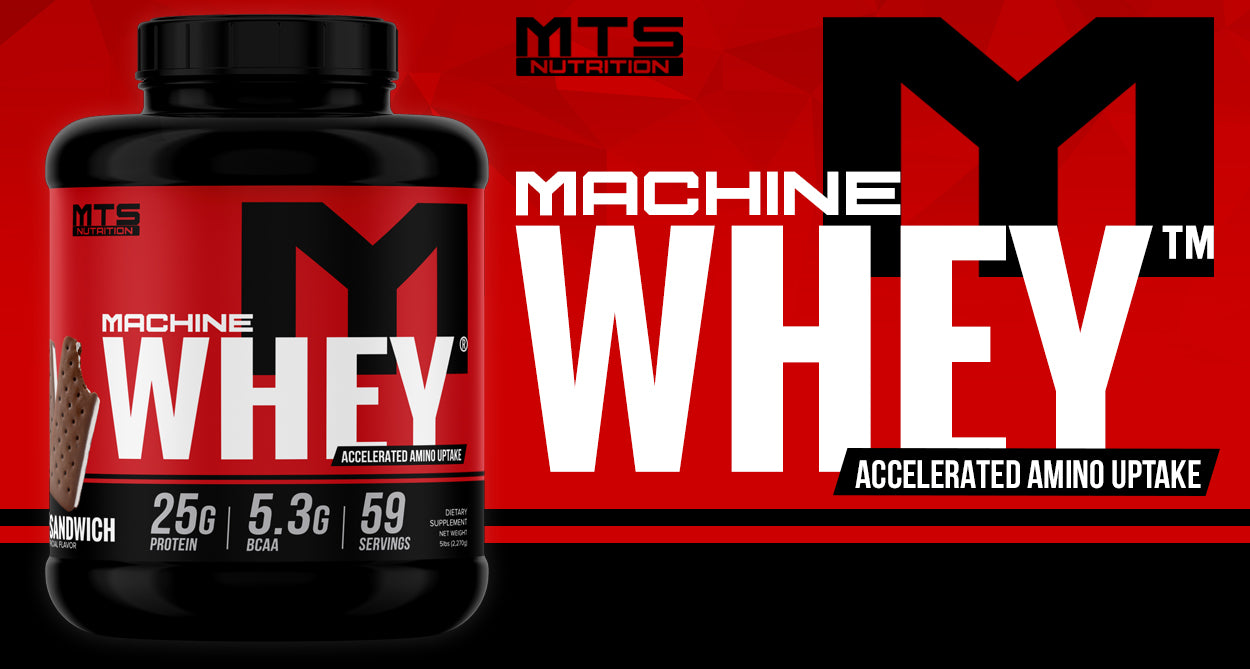 MTS Nutrition Machine Whey Protein | The #1 Selling Protein Powder
