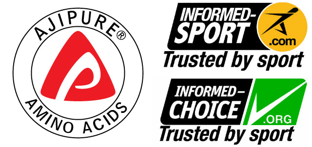 ajipure informed by sport trusted by sport informed choice